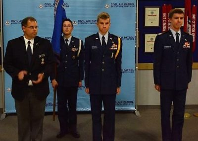 Change of Command for Cadet Sq.